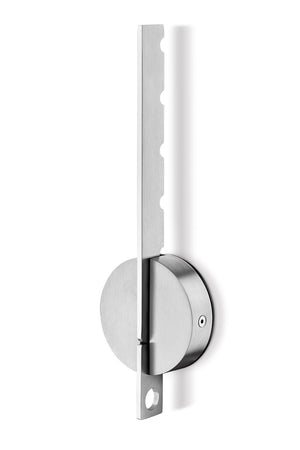 Explore zack 50682 wall mount laveto folding coat rack 11 3 by 1 34 inch stainless steel