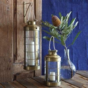 Caravan Brass Lantern - Antique Brass