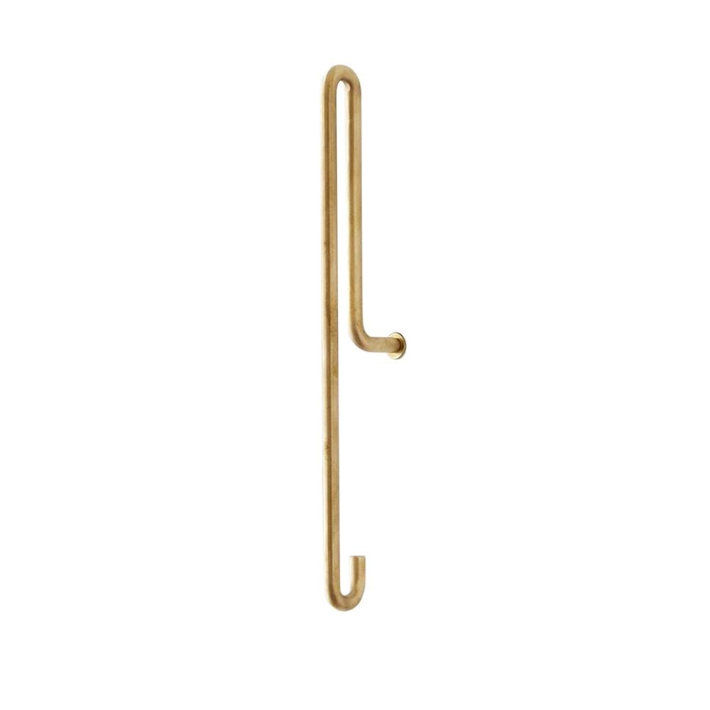 Wall Hook - Brass - Large