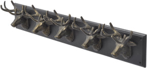 Buckden 5 Stag Wall Hook