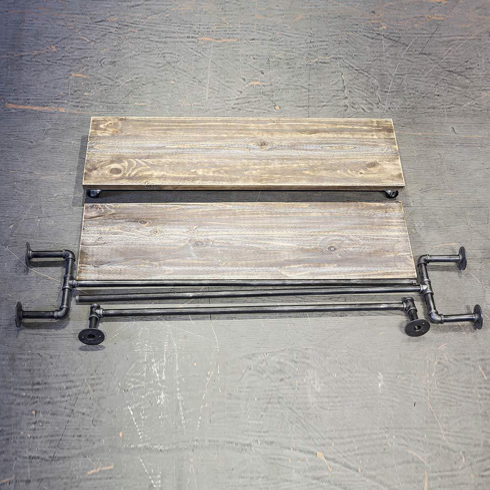 Shop for industrial pipe clothing rack on wheels vintage rolling rack for hanging clothes retail display clothing racks with shelves wooden garment rack with wheels heavy duty clothes rack cloths coat rack