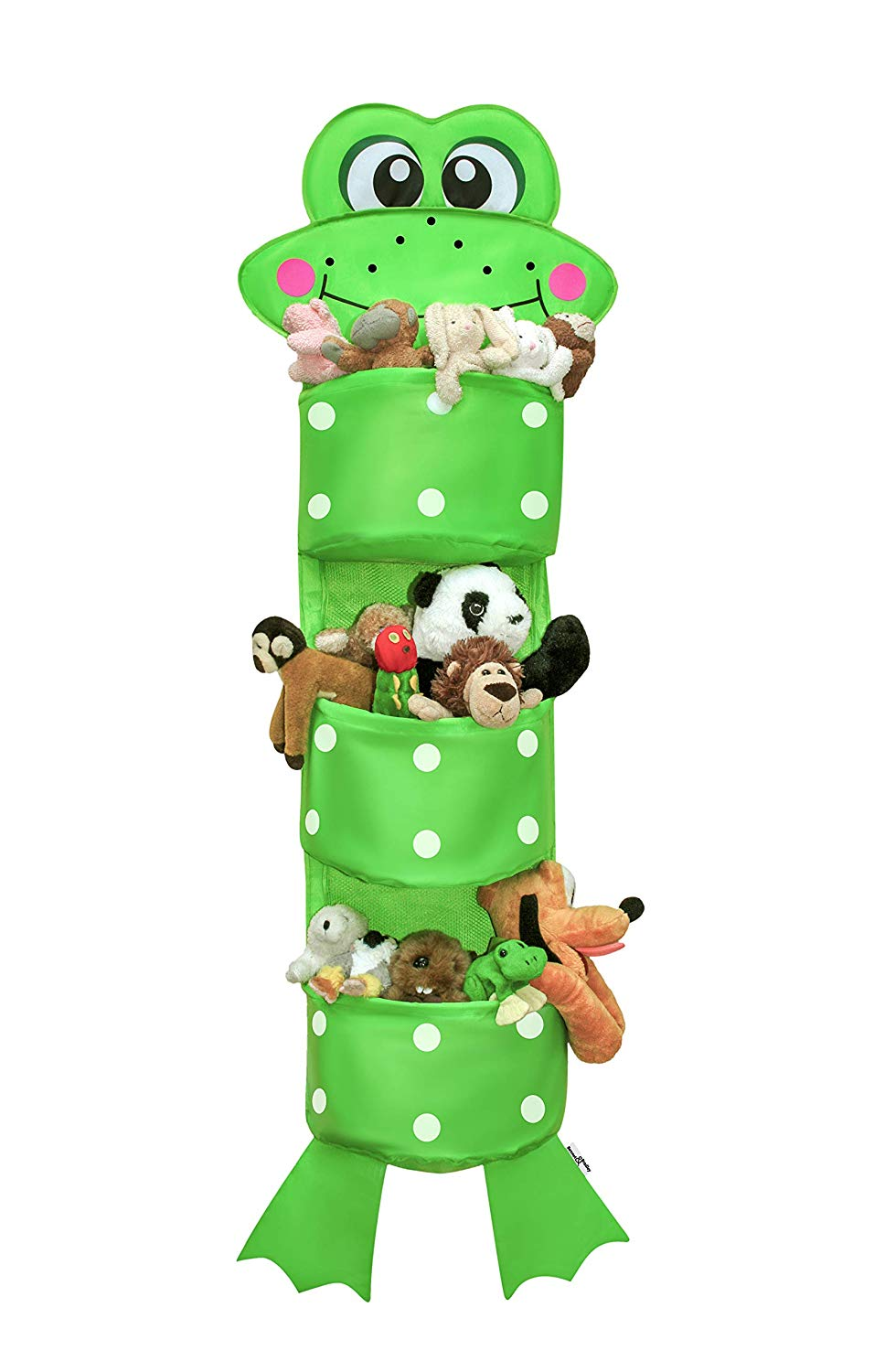 Hanging Toy Storage | SALE-45%| Kids Hanging Toy Storage |Closet Organizer for Baby Clothes, Stuffed Animal Storage. Perfect Gift | 100% Guarantee | Includes Bonus & Luxury Gift Box