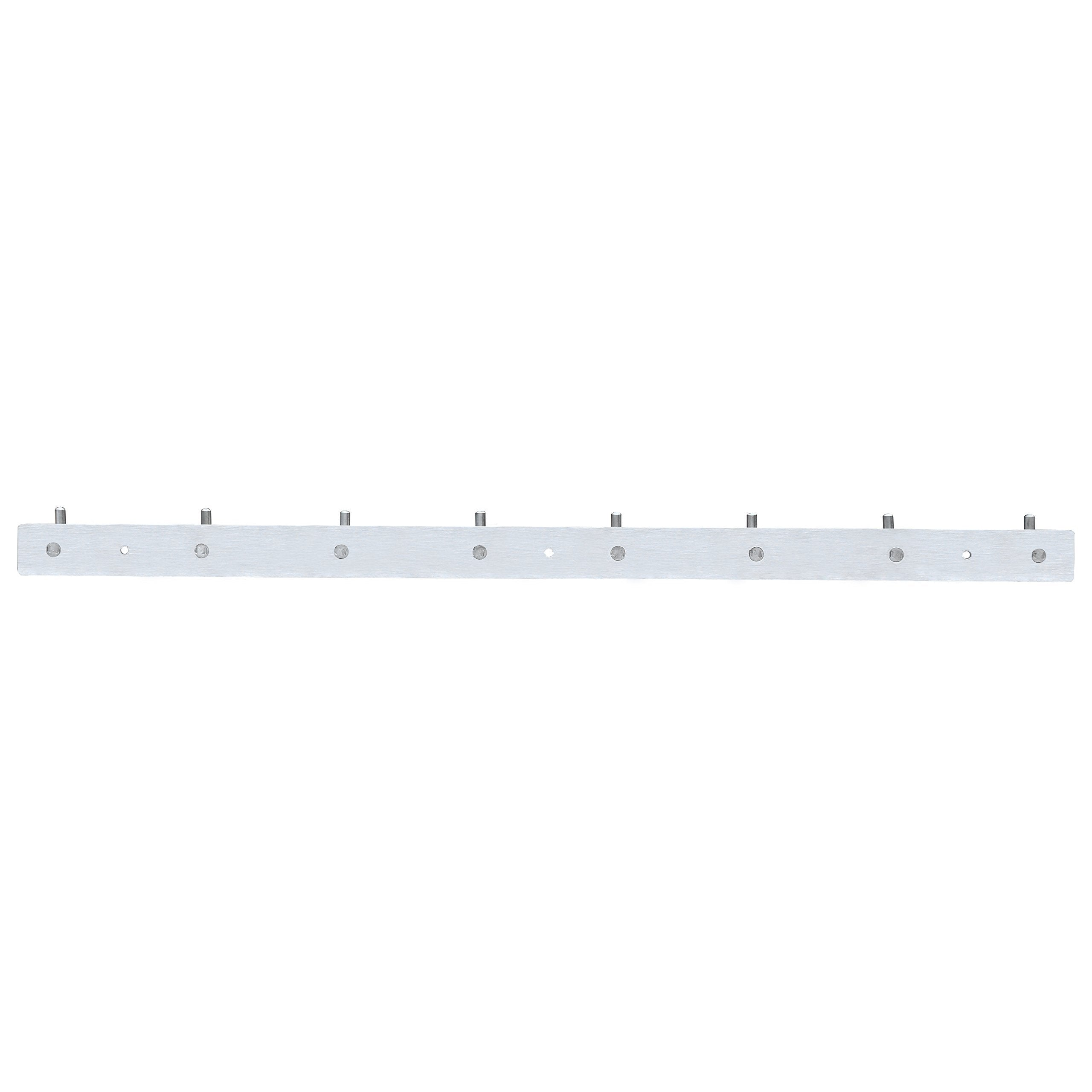 Great stainless steel coat hook webi heavy duty towel rack hanger rail bar for bedroom bathroom fitting room laundry room foyer hallway entryway brushed finish 8 hooks l cf08