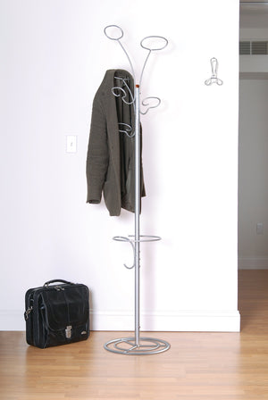 On amazon art of storage coat hat scarves umbrella rack storage hanger tree modern trendy protect
