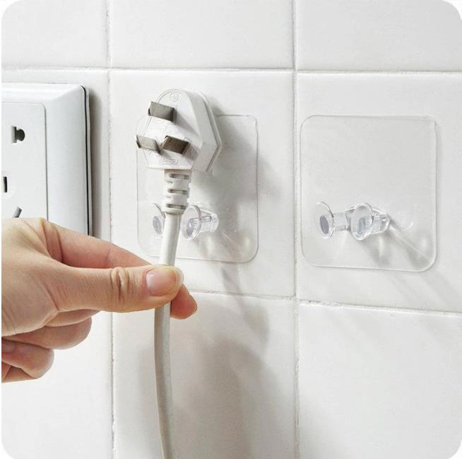 Multi-Purpose Adhesive Hook(5/10 pieces)