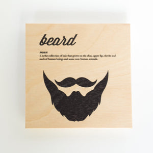 Clearance: Beard Definition