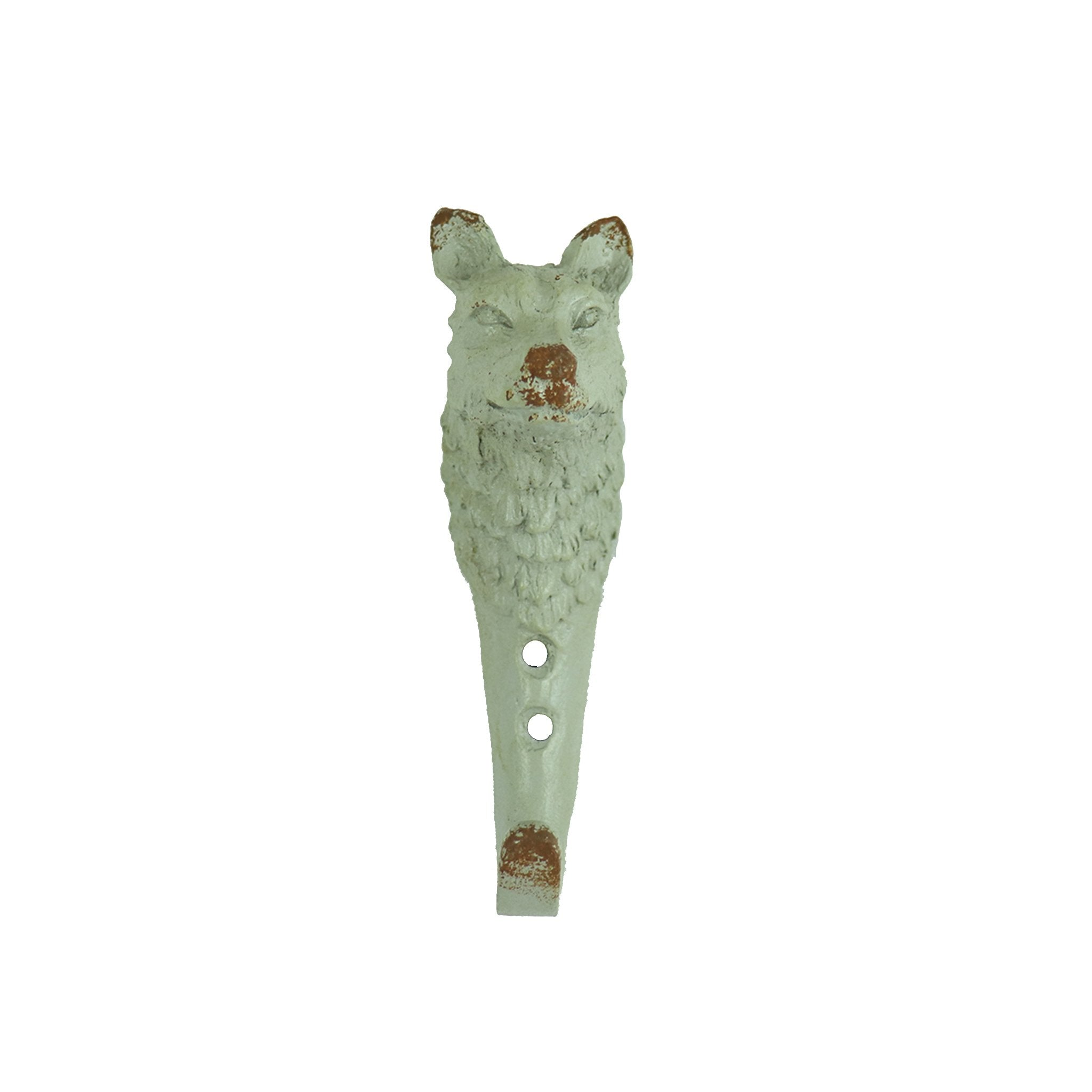 Metal Wolf Decorative Wall Hook