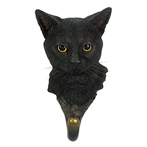 Black Cat Wall Hook