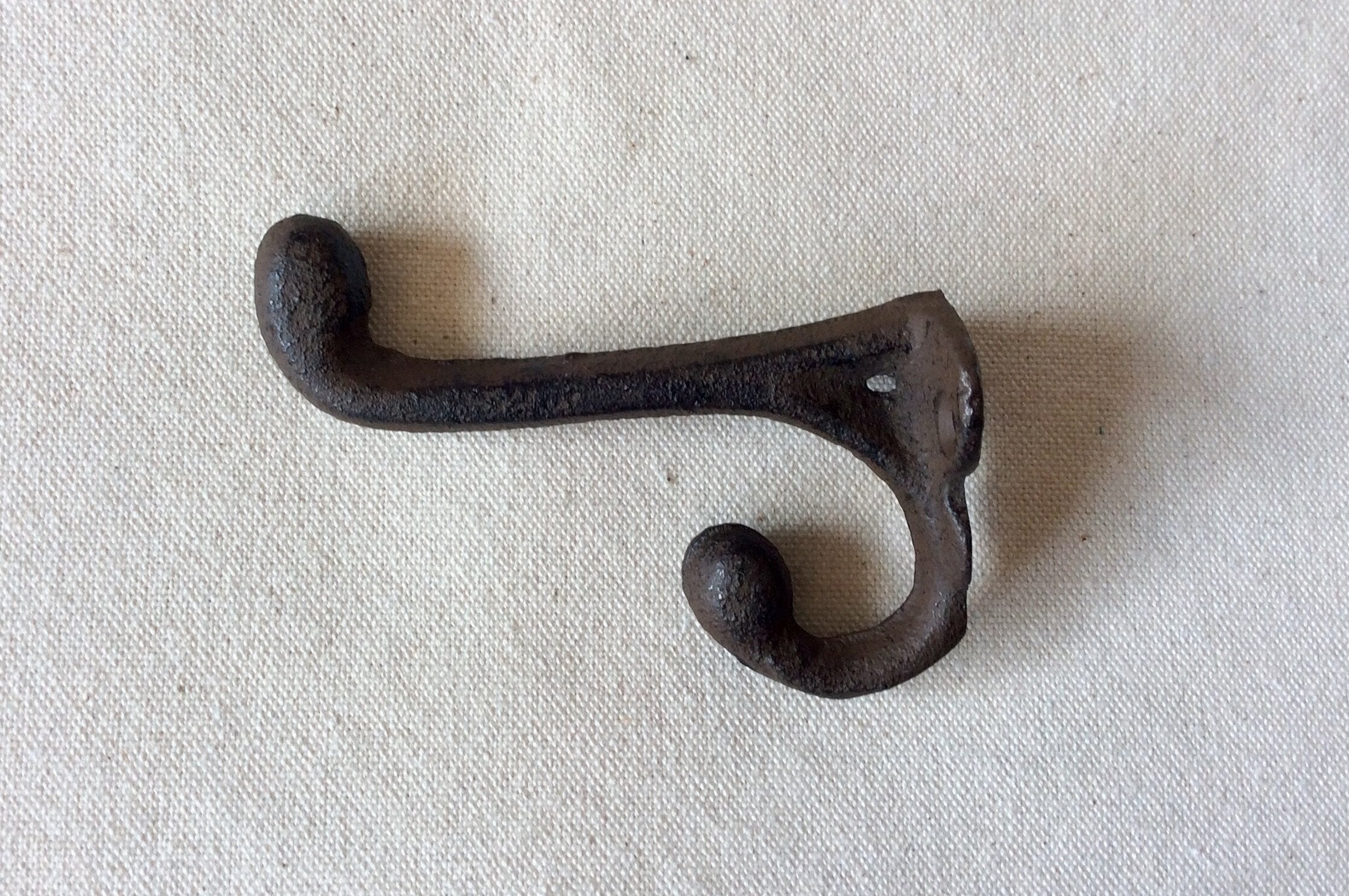 Wall Hook, Cast Iron