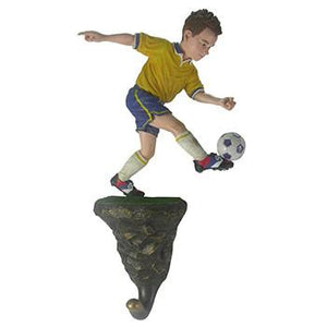 Soccer Boy Wall Hook