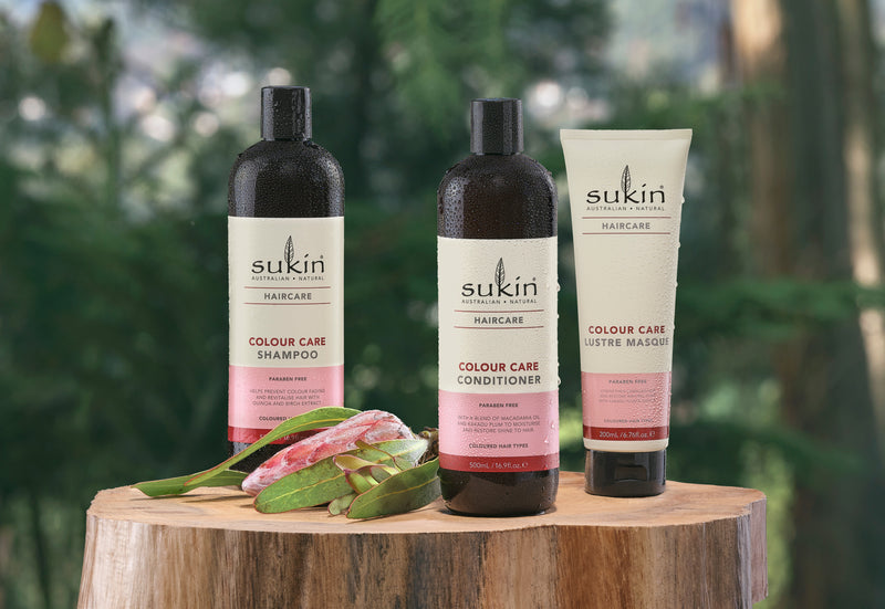 Sukin's 5 tips to look after Coloured Hair. (naturally of course!)