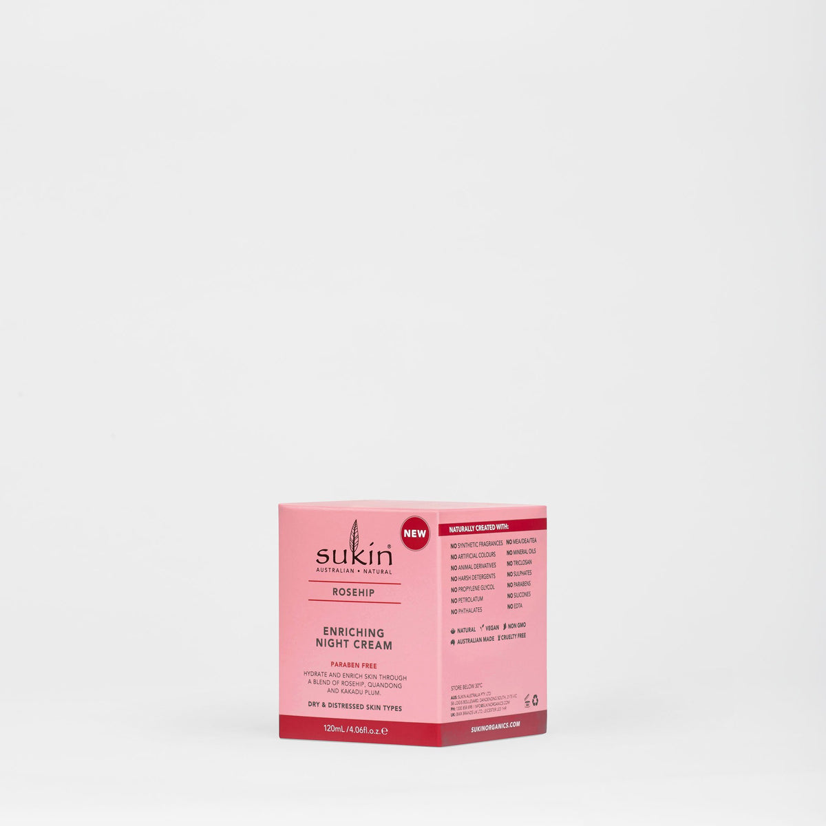 Enriching Night Cream | Rosehip 120ml
