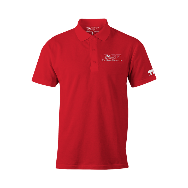 Men's Performance Polo - RSF Logo