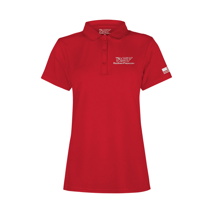 Women's Performance Polo - RSF Logo