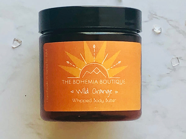 Wild Orange - Whipped body Butter - The Bohemia Boutique - Bath and Body Products - Santa Fe, NM