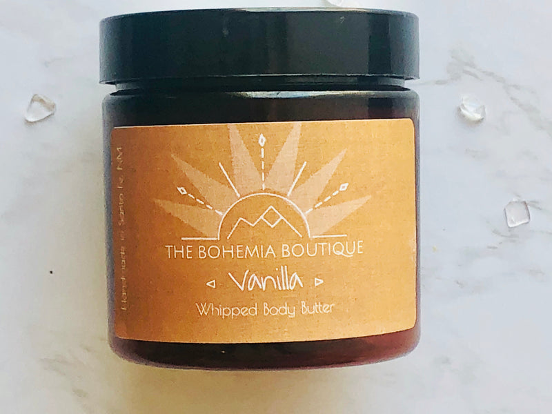 Vanilla - Whipped Body Butter - The Bohemia Boutique - Bath and Body Products - Santa Fe, NM