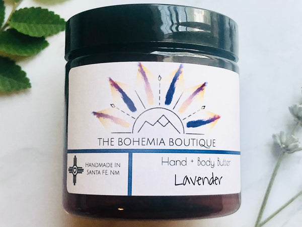 Lavender - Whipped Body Butter - The Bohemia Boutique - Bath and Body Products - Santa Fe, NM