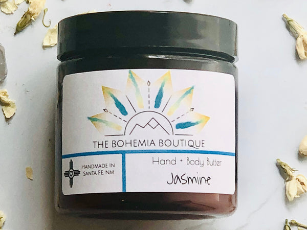 Jasmine - Body Butter - The Bohemia Boutique - Bath and Body Products - Santa Fe, NM