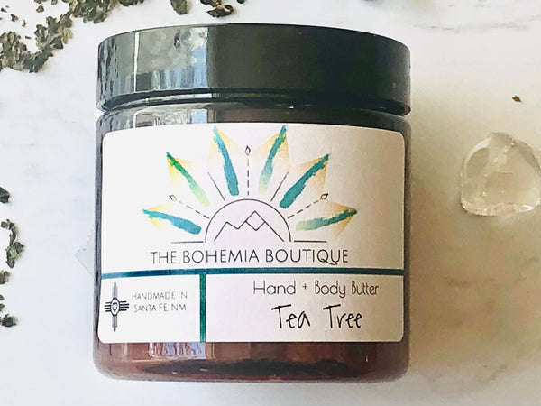 Tea Tree - Whipped Body Butter - The Bohemia Boutique - Bath and Body Products - Santa Fe, NM