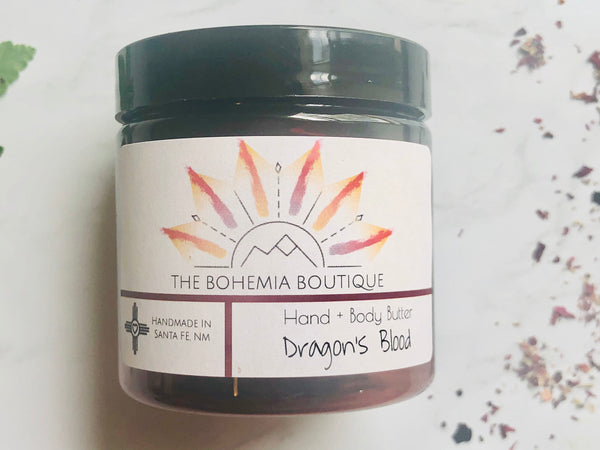 Dragons Blood - Whipped Body Butter - The Bohemia Boutique - Bath and Body Products - Santa Fe, NM