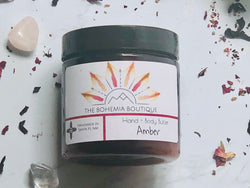 Amber Oil - Whipped Body Butter - The Bohemia Boutique - Bath and Body Products - Santa Fe, NM