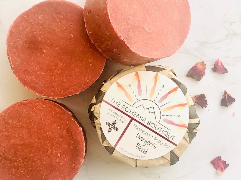 Dragons Blood Shampoo Bar - The Bohemia Boutique - Bath and Body Products - Santa Fe, NM