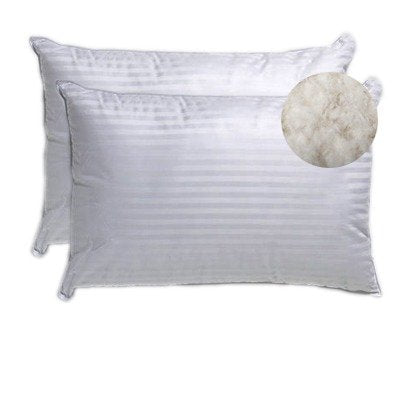 Classic Cotton Pillows- 17 x 27-inch (White)