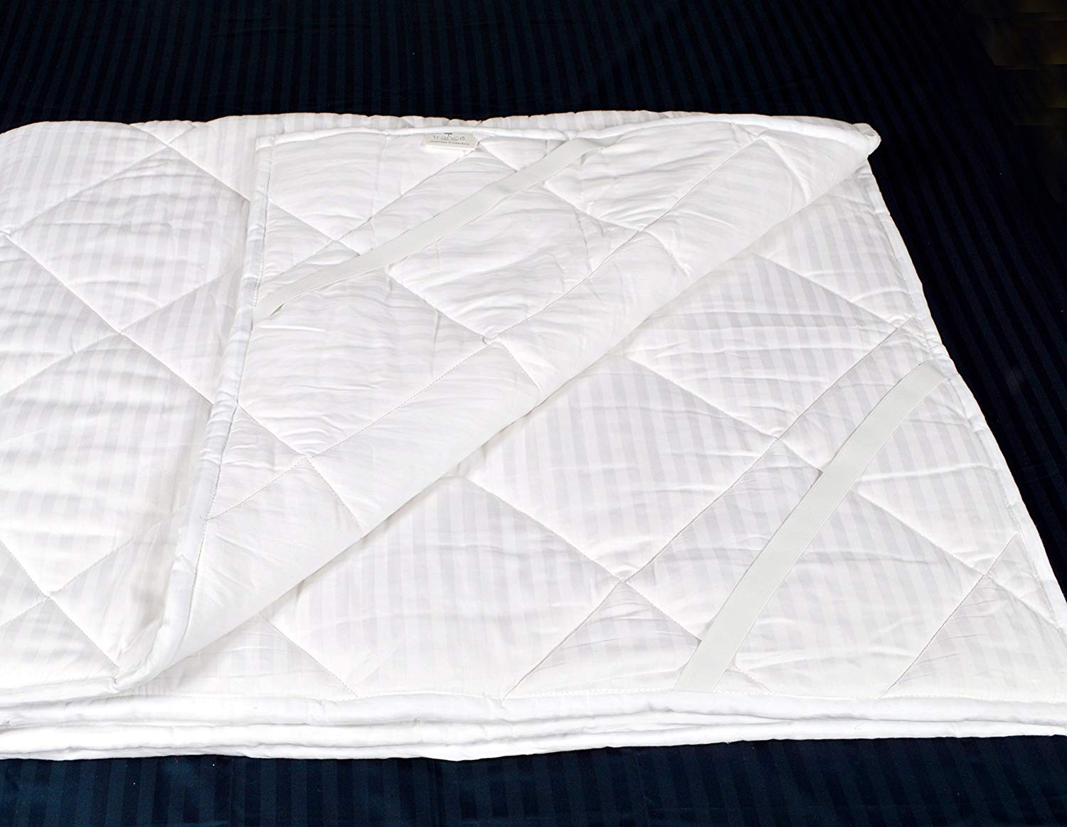 Trance Home Linen 100% Cotton Mattress Topper