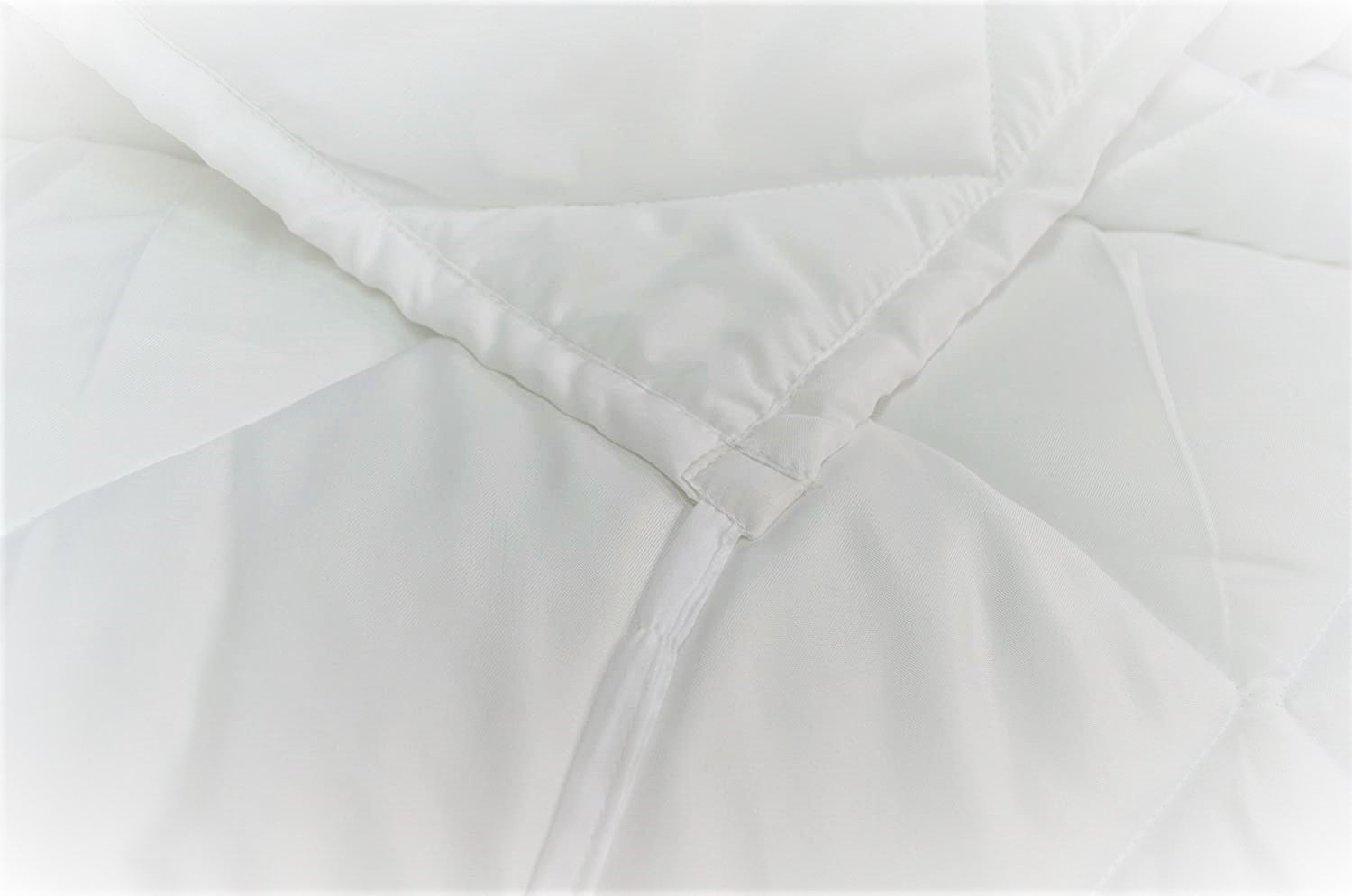 Trance Home Linen 200 Gsm Microfiber White Duvet with 200 TC Cotton Duvet Cover ( Duvet + Duvet cover )