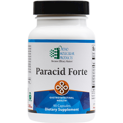 Paracid Forte 90 caps Ortho Molecular Products Supports Healthy Microbial Balance in the GI Tract