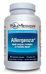Allergenza - 60c Multi-Enzyme, Probiotic & Prebiotic Blend Providing Powerful Support for Food Sensitivities*