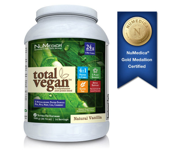 Total Vegan- Chocolate 620gms NuMedica