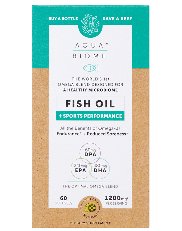 Aqua Biome™ Fish Oil Sports 60 Enzymedica