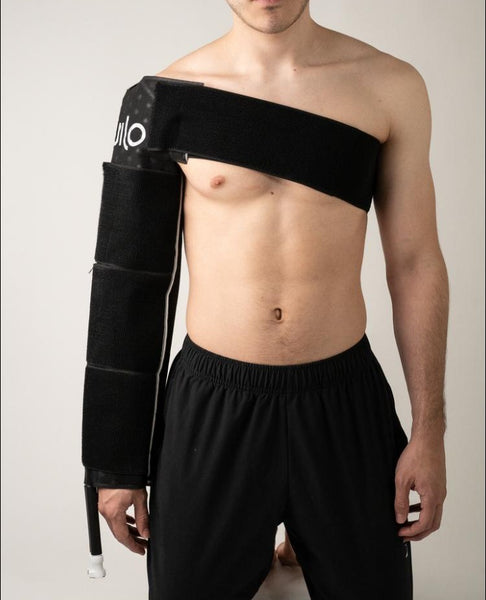 ice cold recovery for arms and shoulder