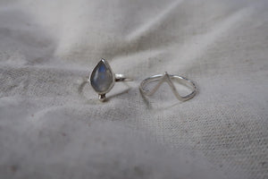 Moonstone and point combo