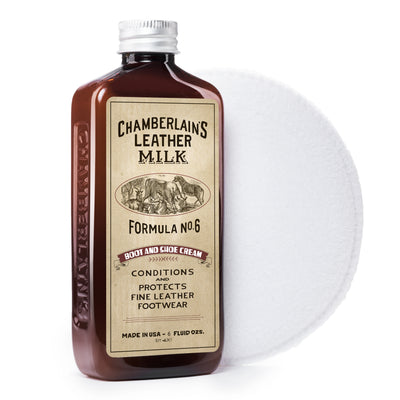 Boot & Shoe Cream No. 6 - Premium Leather Boot & Shoe Conditioner