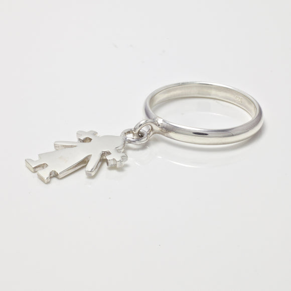 Millie Girl Charm Ring