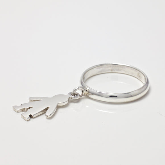 Madison Boy Charm Ring