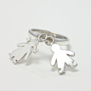 Addison Girl Boy Charm Ring