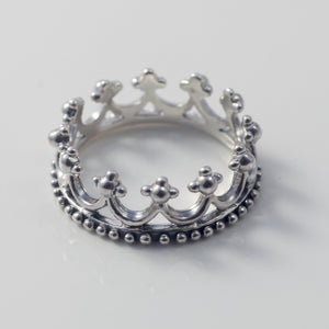 Megan Crown Stacking Ring