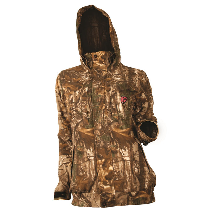 Scent Blocker Sola Womens Outfitter Jacket-Camo-Large - A-Kuma Tactical