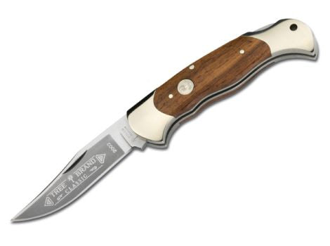 Boker Classic Pocket Folder 3.1 in Blade Rosewood Handle - A-Kuma Tactical