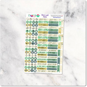 Functional Planner Stickers Icons Scripts Headers