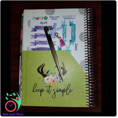 Planner Sticker Sheet In Planner Folder