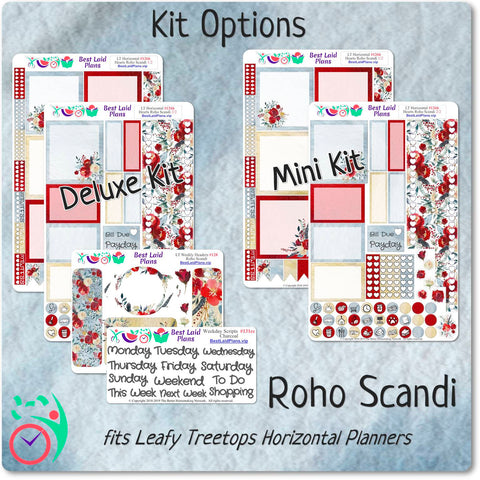 Image of Leafy Treetops Horizontal Weekly Kit Roho Scandi