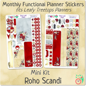 Leafy Treetops Monthly Headers Roho Scandi