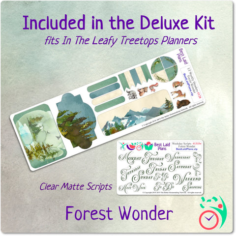 Leafy Treetops Vertical Weekly Kit Forest Wonder