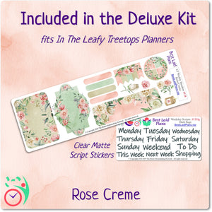Leafy Treetops Vertical Weekly Kit Rose Creme