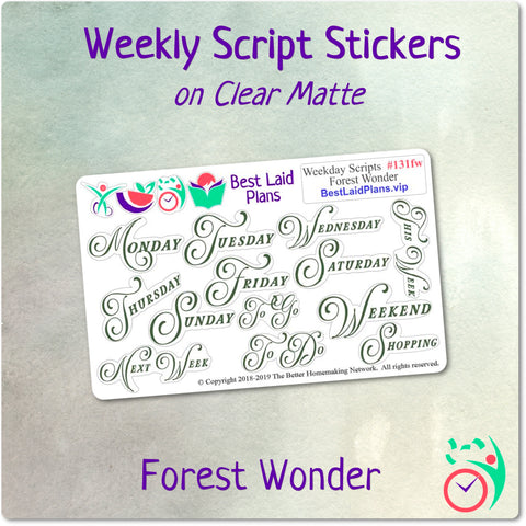 Image of Weekday Scripts Forest Wonder