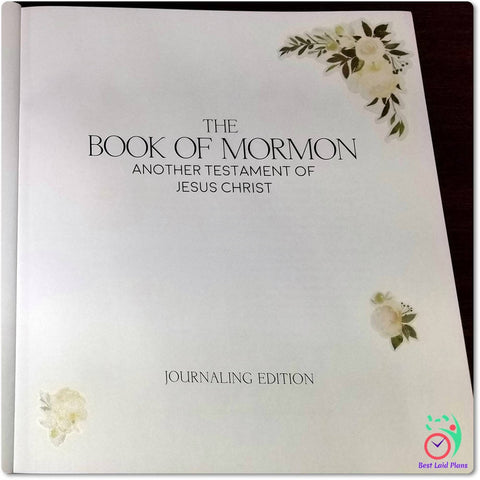Image of Book of Mormon Scripture Journaling Stickers Title and Introduction